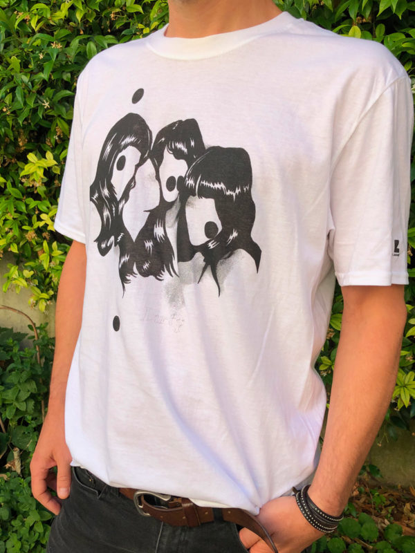 T-Shirt Dirty Homme blanc